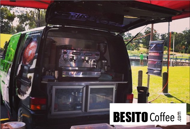 Coffee Trailer Hire by Besito Coffee Van